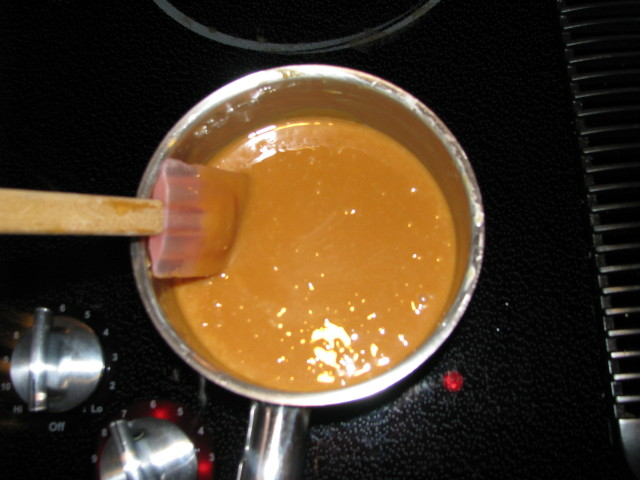 Melted carmel