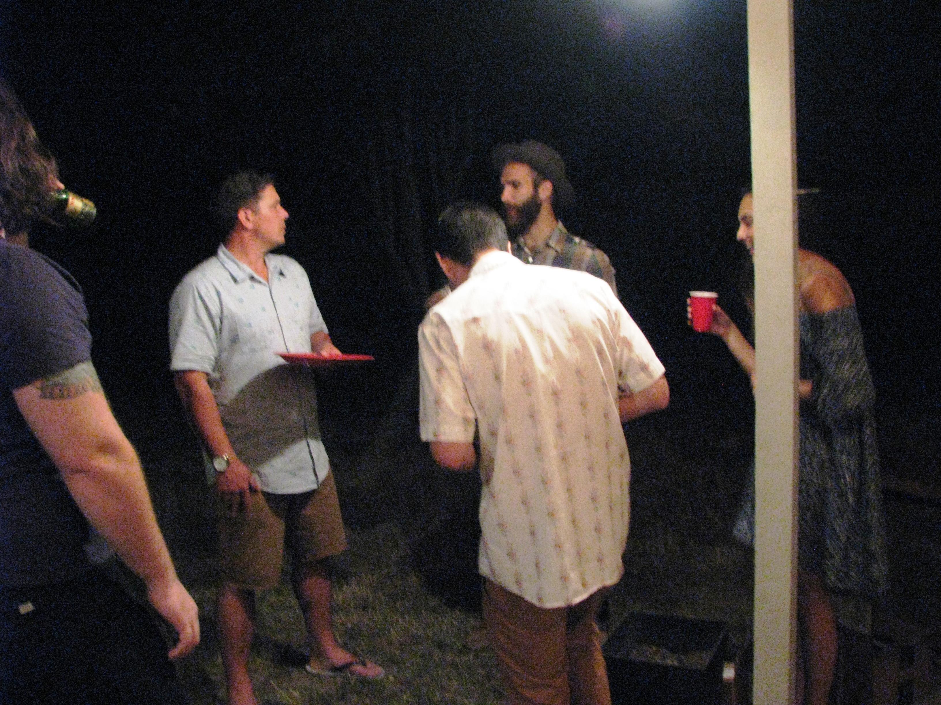Joel telling story