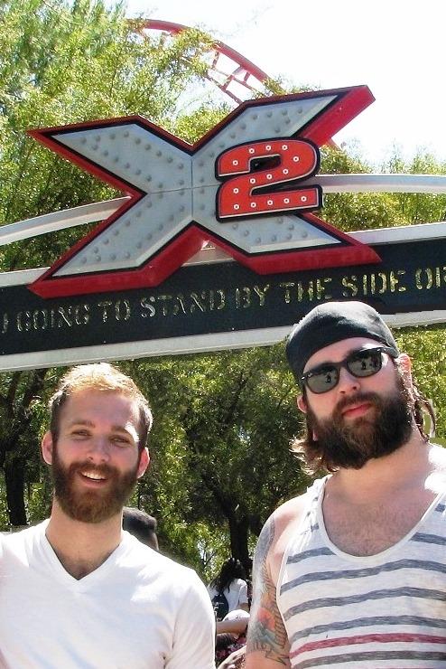 Jonathan and Joel at X2