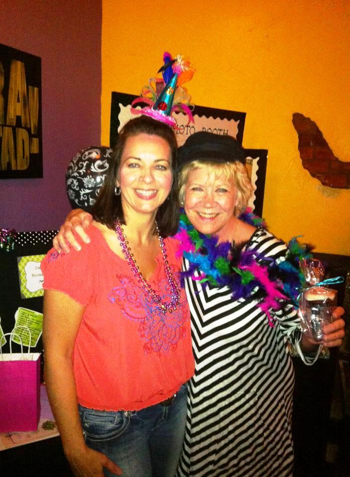 Me and Jill Rix at my Bday party edited