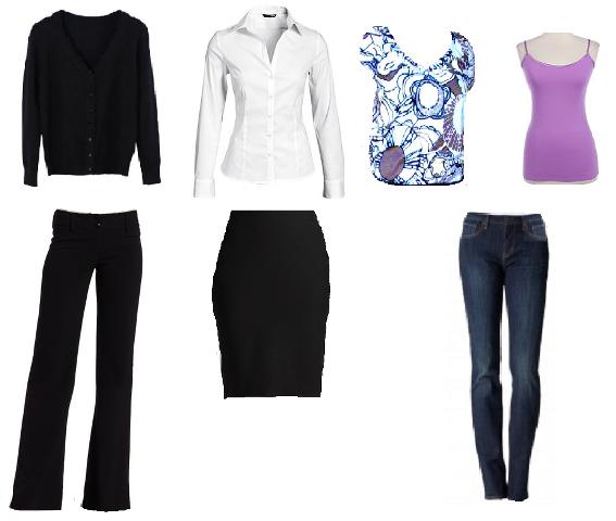 paulaReyne.com 6 Item wardrobe 567x480